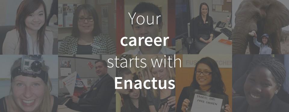 Enactus Career Web Banner